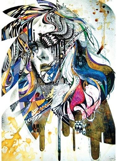 Art Puzzle Puzzle Renkli